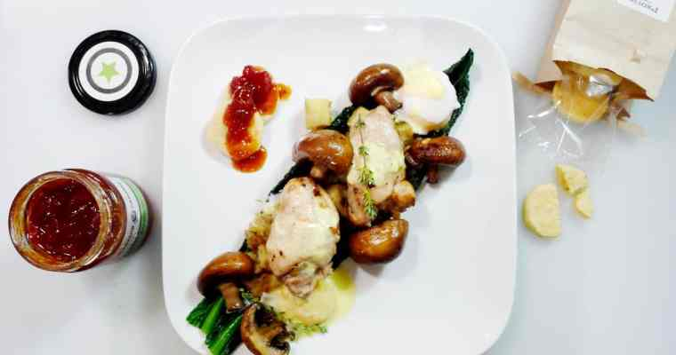 Pot Roasted Chicken Recipe with Porcini Mushrooms | The Farmer's Apprentice Chefs Box