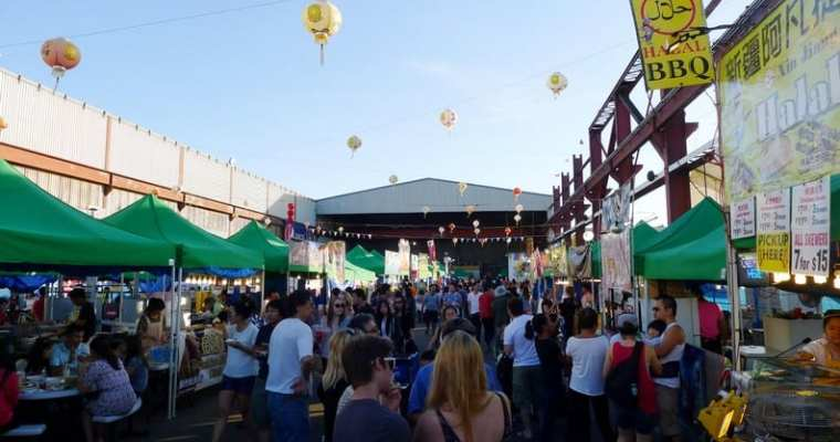 International Summer Night Market Richmond | Street Food Guide