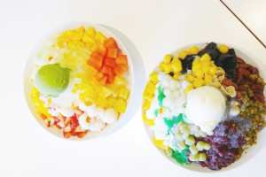 ICY BAR SHAVED ICE DESSERT BURNABY KINGSWAY BUBBLE TEA BOBA Instaomss Nomss
