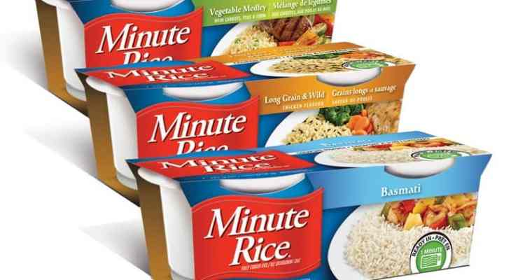 CONTEST Win 48 cups of Minute Rice Ready To Serve Cups