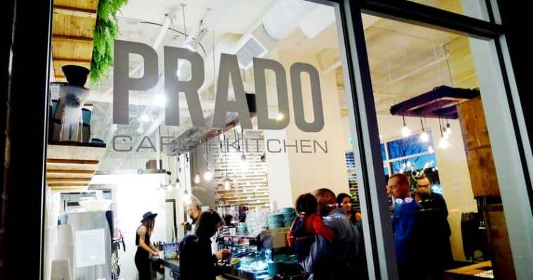 Prado Cafe Fraser Street Vancouver | Coffee Shop Opening