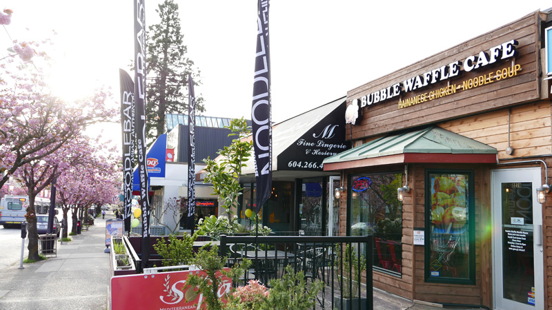 Bubble Waffle Cafe Vancouver Kerrisdale Instanomss Nomss Delicious Food Photography Healthy Travel Lifestyle Canada