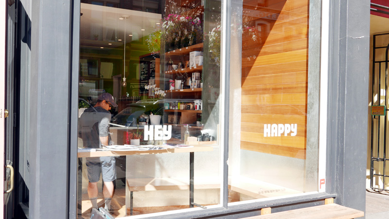 Hey Happy Coffee Victoria Chinatown BC Vancouver Island Instanomss Nomss Delicious Food Photography Healthy Travel Lifestyle Canada