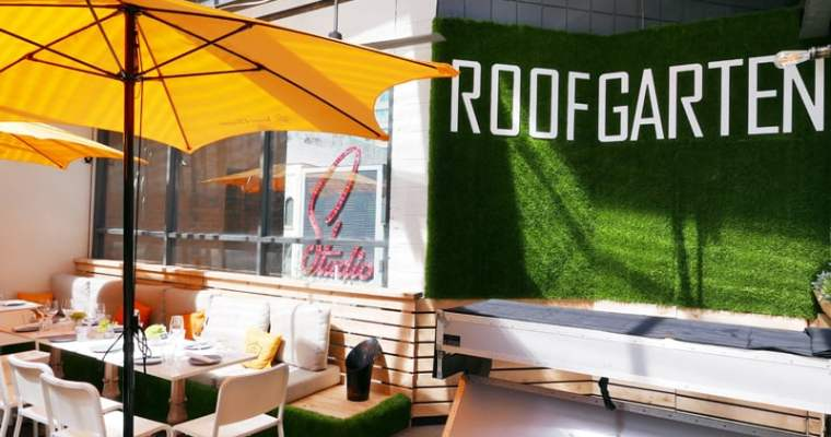 Roof Garten Vancouver | Veuve Clicquot and Roof Top Brunch