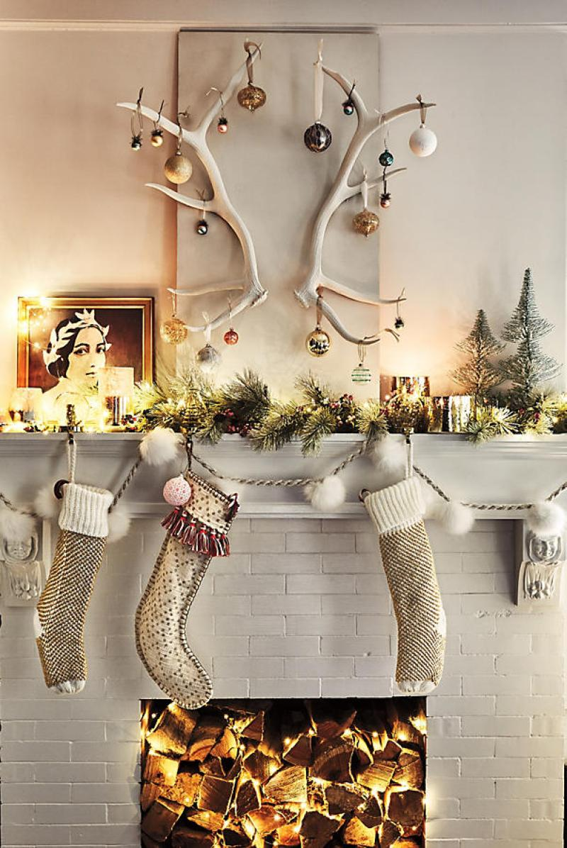 Anthropologie Pommed Garland Christmas Tree | Shopping for the Best Holiday Decor
