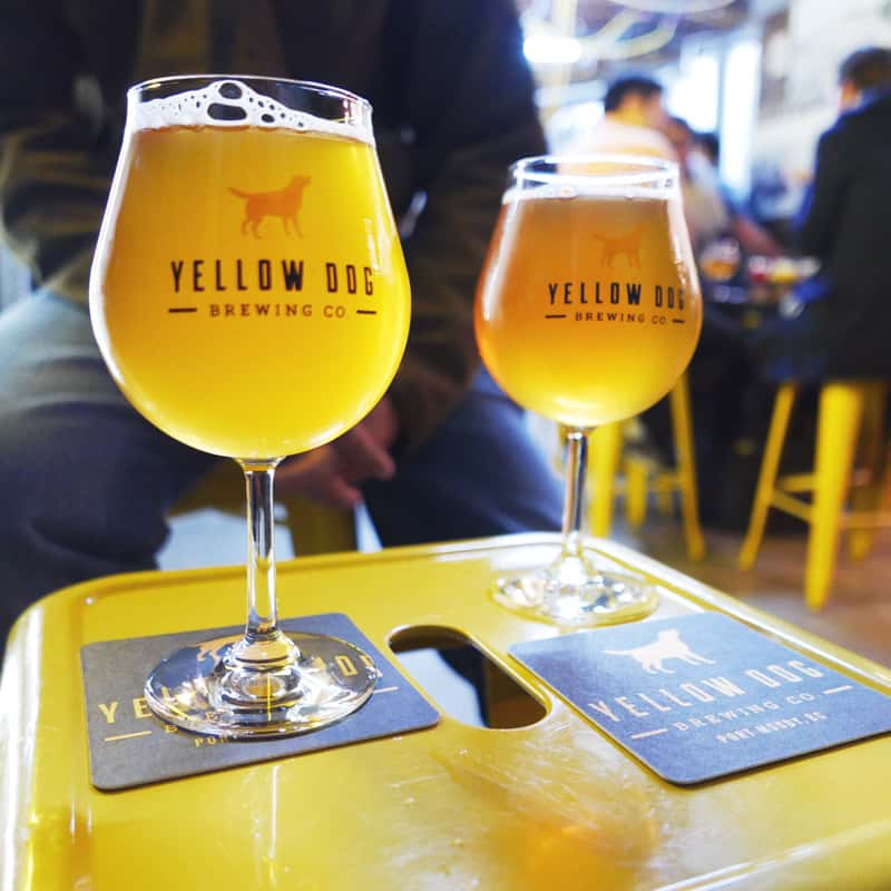 Yellow Dog Brewing Port Moody BC Craft Beer Instanomss Nomss Delicious Food Photography Healthy Travel Lifestyle