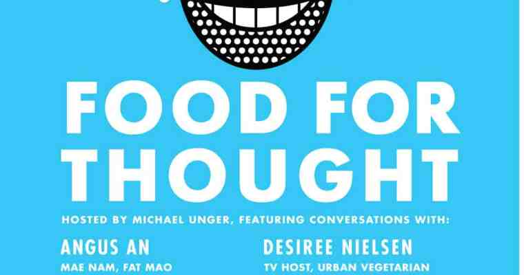 Food For Thought YVR Food Fest | A Speaker Series About Food