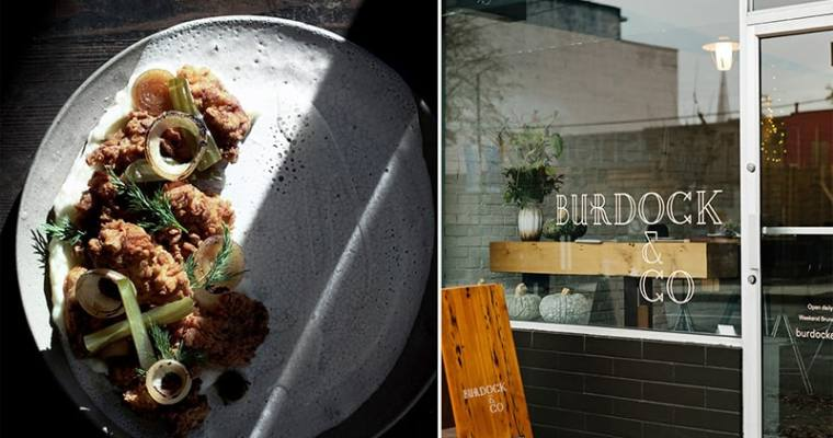 Burdock & Co Happy Hour | Fried Chicken and Good Company Lager