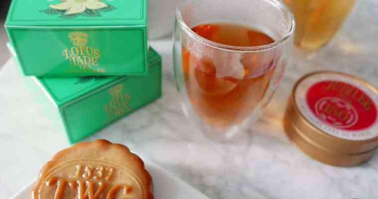 TWG Tea Lotus Jade Tea Mooncake Collection