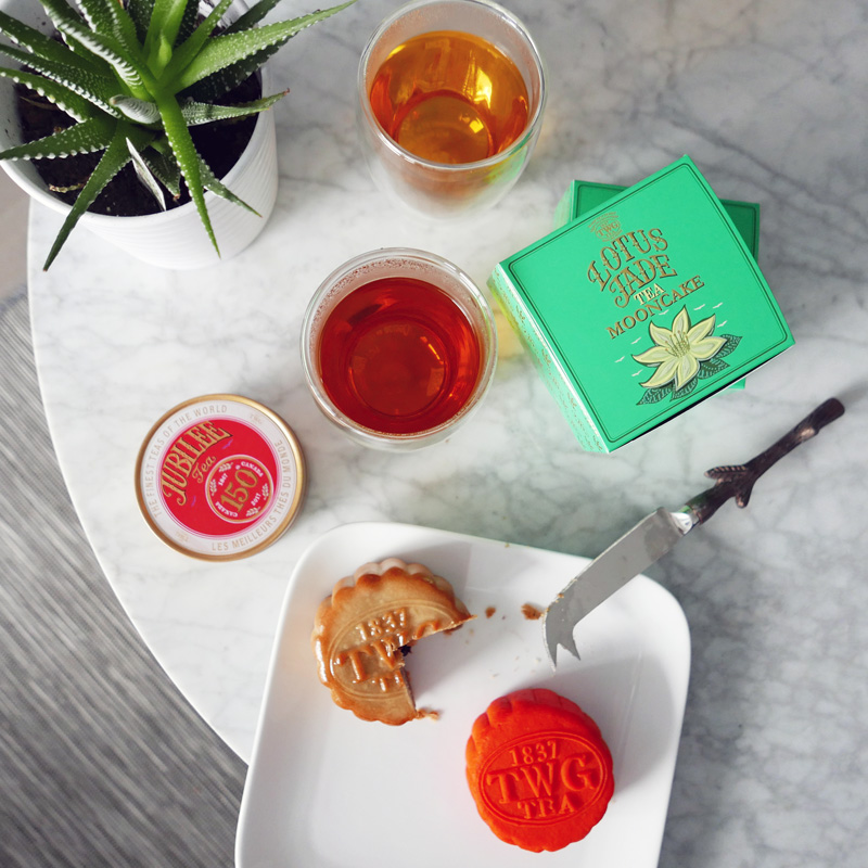 TWG Tea Mooncakes Nomss