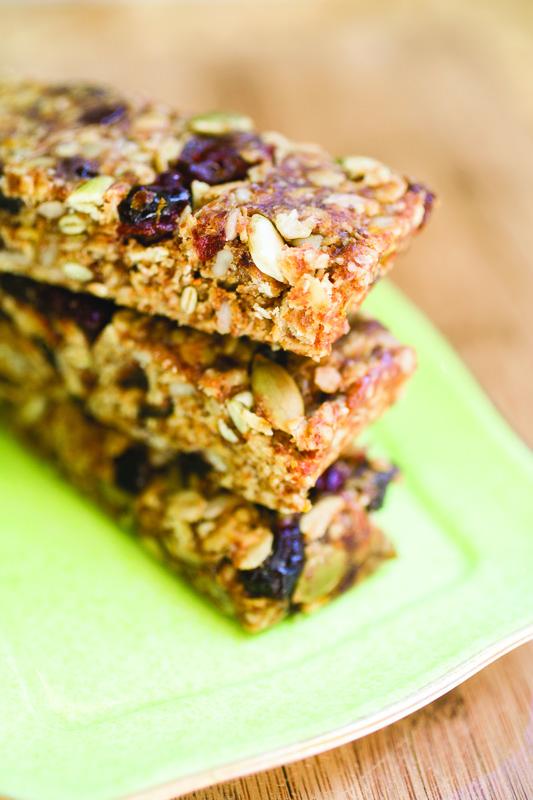 Citrus Burst Energy Bars Recipe | Eat at Home Cookbook