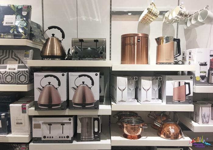 Comprar Coisas de Casa em Londres