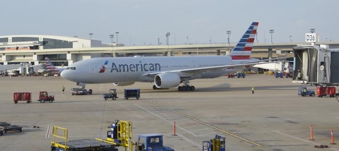 como é voar com a american airlines