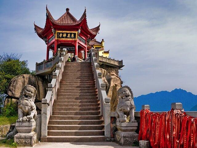 omo planejar uma viagem para china
