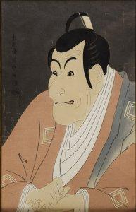 Artist: Sharaku Toushuusai / Title: Ebizou Ishikawa IV as Sadanoshin Takemura
