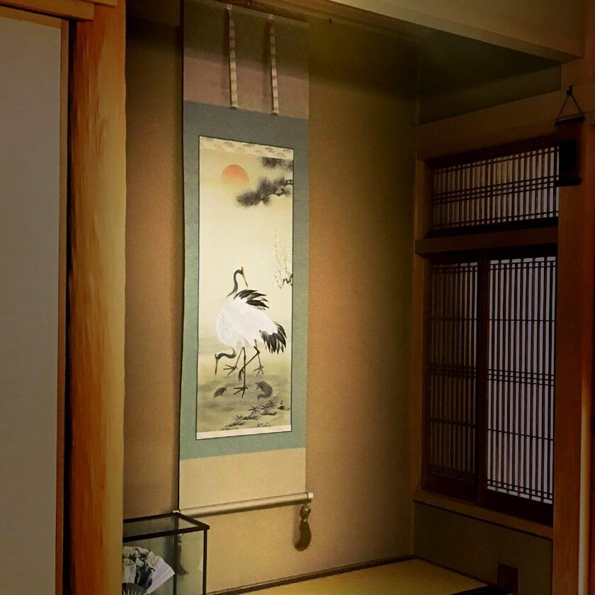 tokonoma_crane-and-turtle kakejiku