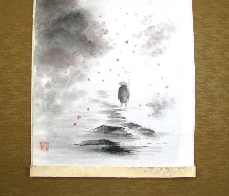 tokonoma bonsai kakejiku