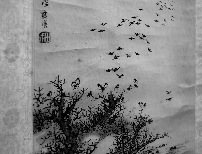中国製掛軸_表装仕立替 (1)