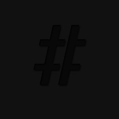 The Black Hashtag