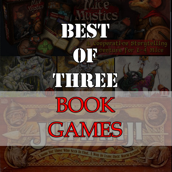 Best of Three - Book Games