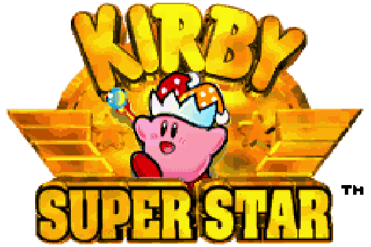 Kirby Super Star logo
