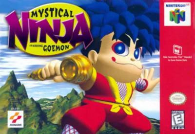 Mystical Ninja Starring Goemon cover