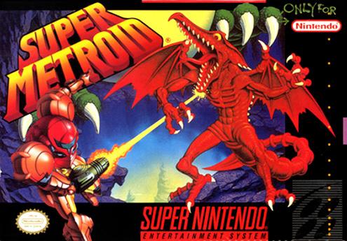 Super Metroid - Cover