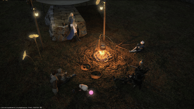 The Heavensward story has you join forces with old friends, and even former foes.