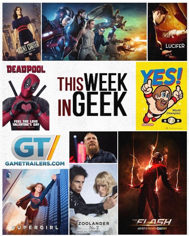 This Week in Geek – 2-10-2016
