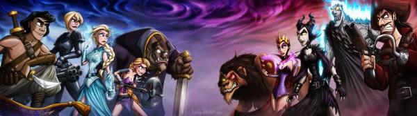 Disney Death Battle - Part 1 by JoshNg http://joshng.deviantart.com/