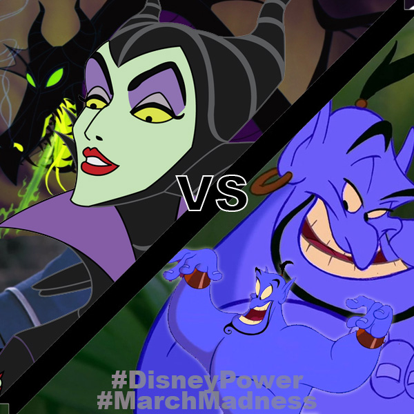 Maleficent vs Genie