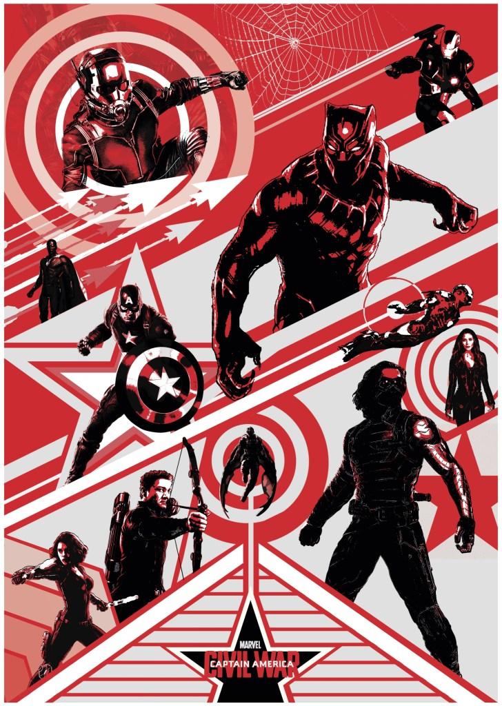 Civil War spy movie poster by Dylan Patel