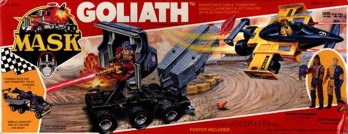 """""""A transforming truck! How do we come up with these things?!"""" - Ballsy Kenner Executive"""