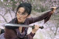 Liu Yifei action shot