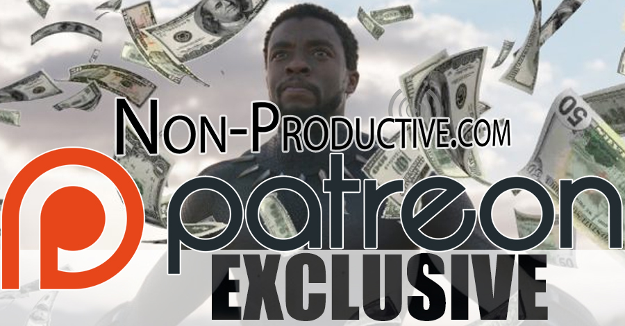 Patreon Exclusive: Black Panther Bock Office Gross-Out!