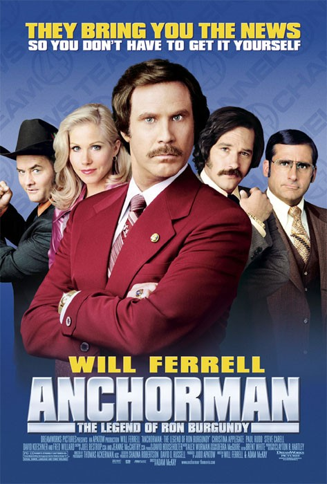 SNL Nerds – Episode 77 – Anchorman (2004)