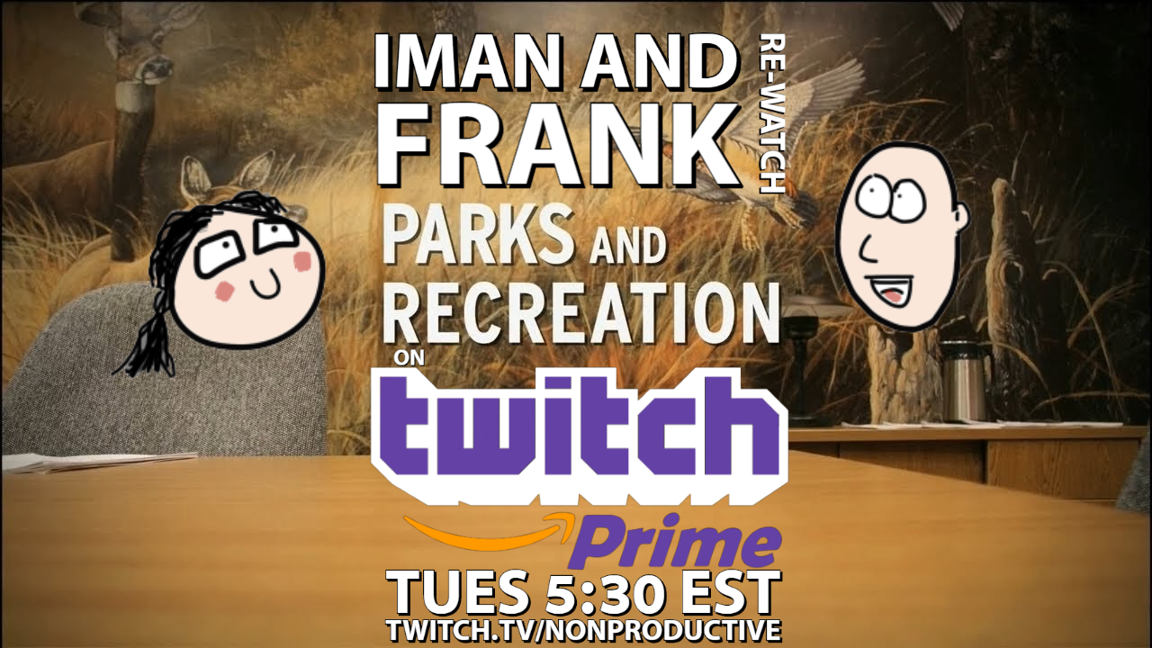 Let's Re-Watch Parks and Rec – A Twitch Prime Watch Party!