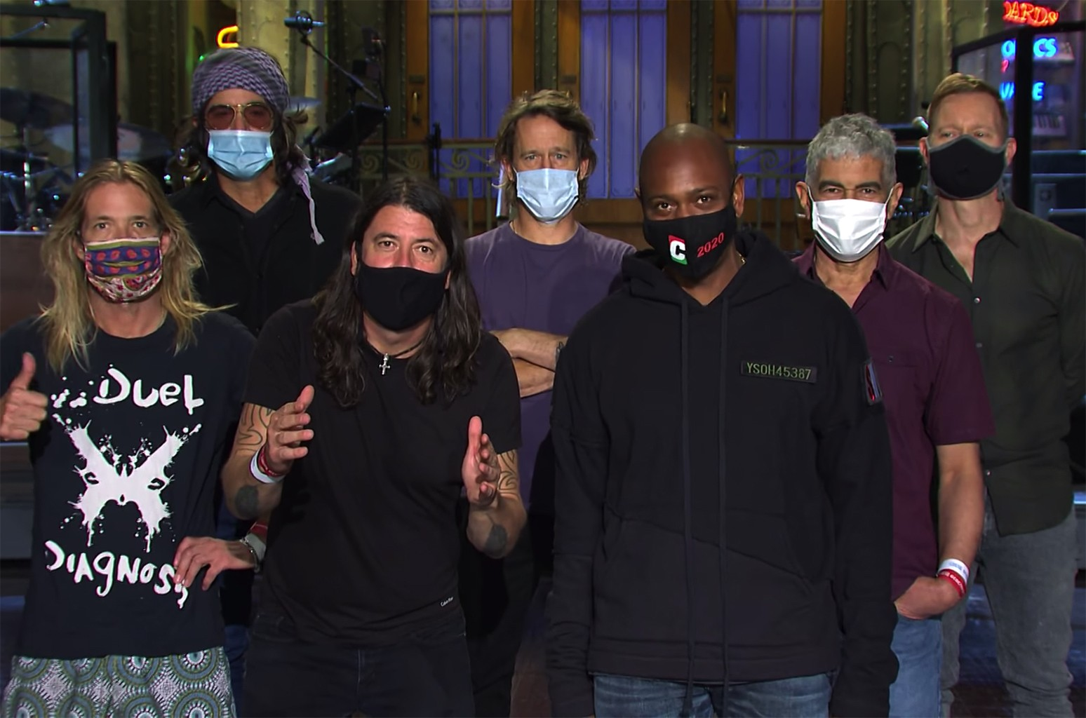 SNL Nerds – Episode 110 – Dave Chappelle and the Foo Fighters with special guest J-L Cauvin