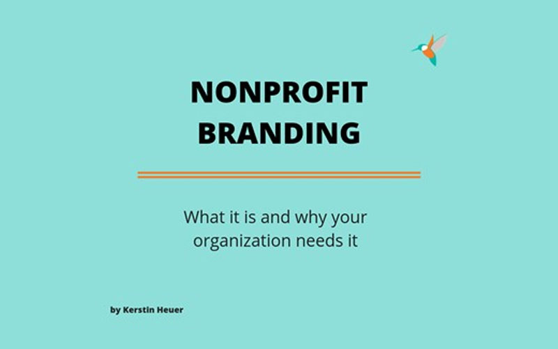 What branding is and why your nonprofit needs it