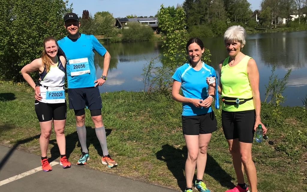 Hannover-Halbmarathon zu Hause