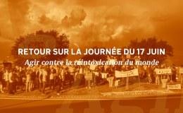 retour sur la journée du 17 juin 2020 - agir contre la réintoxication du monde