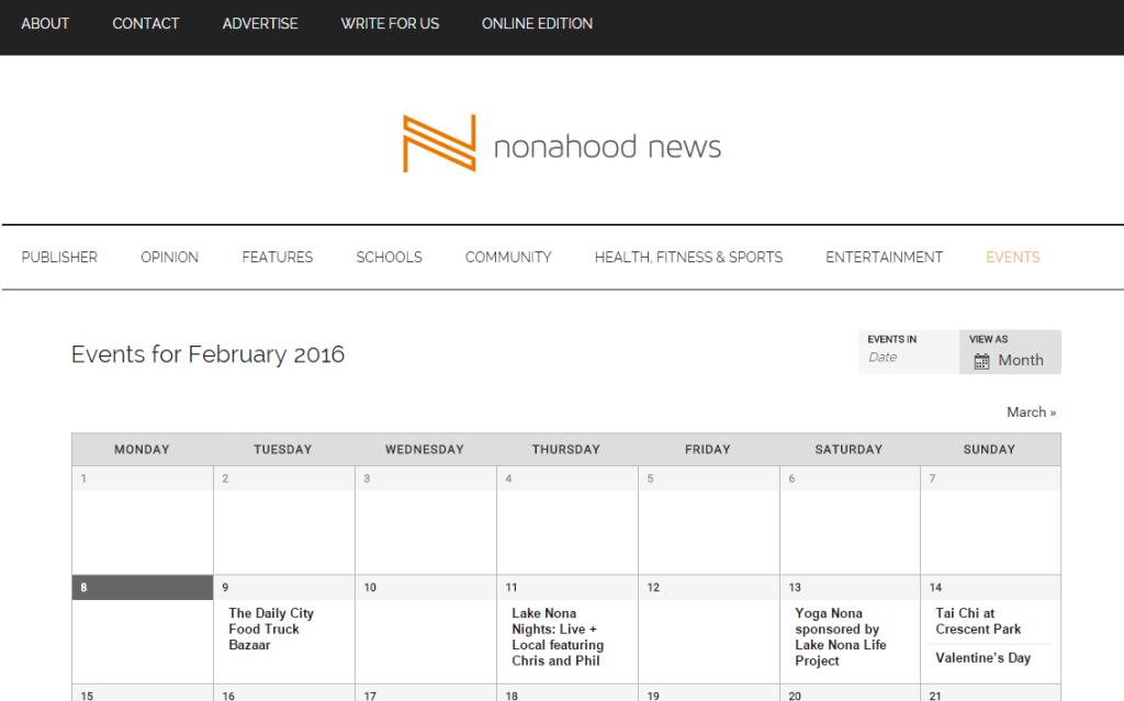 Calendar Month view_v02
