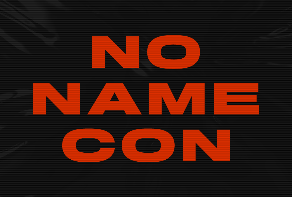 Traditions win. NoNameCon will be held for 2 days!
