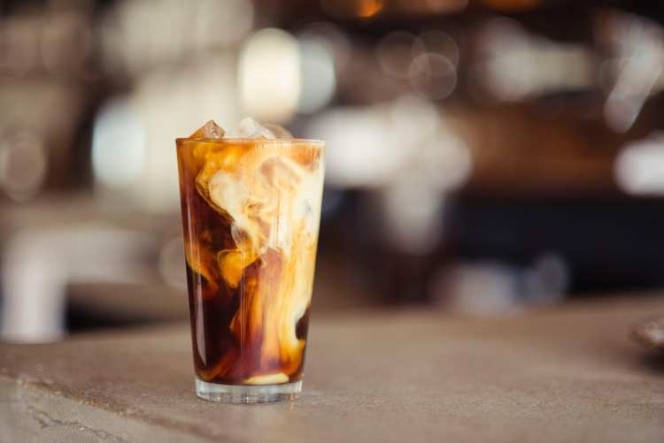 Photo of a Yummy Cold Brew. The Best Breakfast in Kennebunkport Awaits!