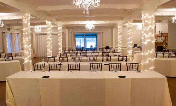 Event space in southern Maine