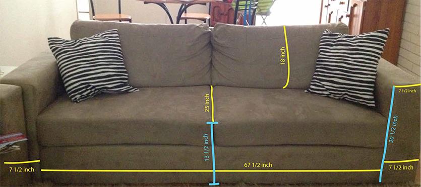 DIY Sofa Slip Cover Nonapie