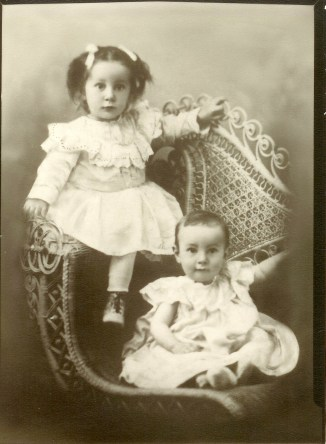 Grandma Katie and brother Horace