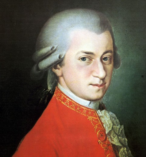 Potret Wolfgang Amadeus Mozart