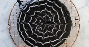 How to Ice Your Cake with a High-Impact, Low-Effort Spiderweb Design