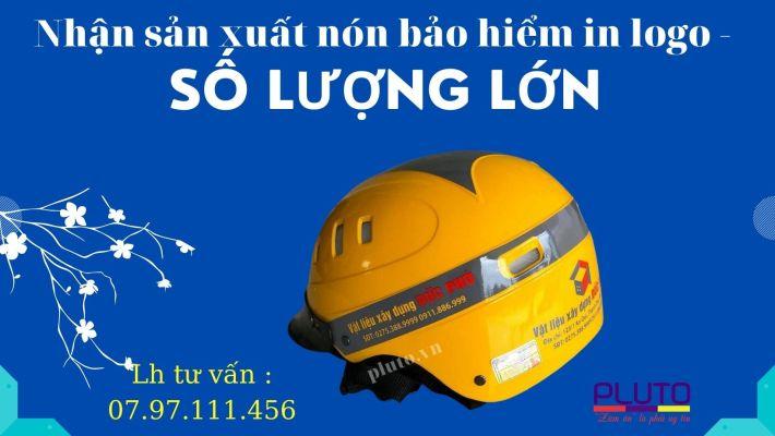 Nhận Sản Xuất Nón Bảo Hiểm In Logo 58.000đ (2)